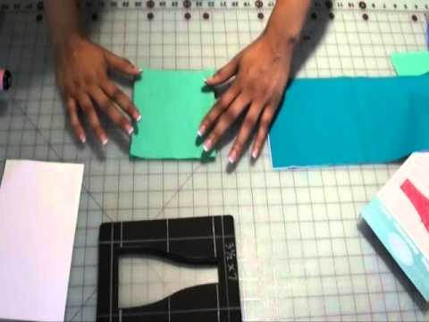 Fabric Cutting Tips for the Sizzix Bottle Die