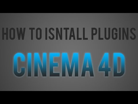 Cinema 4D Tutorial: How to Install Plugins