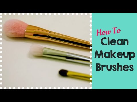 How To Clean Your Makeup Brushes - POPxo