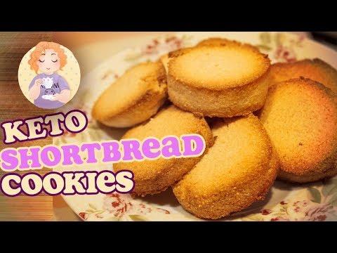 3 Ingredients Low Carb Shortbread Cookie Recipe    Tasty!!!