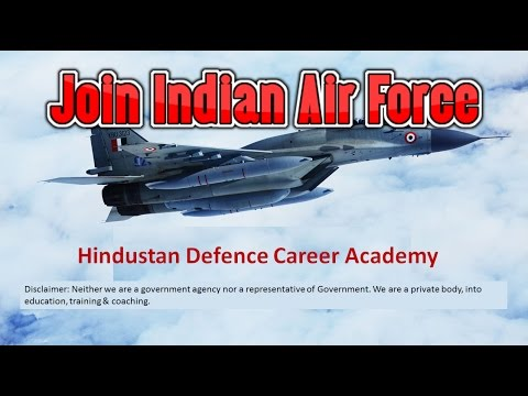 Join  Indian Air Force X Y Group / How to prepare for JOBS into Indian Air Force