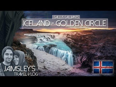 ICELAND Day 2 - THE GOLDEN CIRCLE, WATERFALLS, GEYSIR's, LAGOON SPA & GOT LOCATIONS