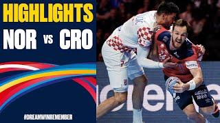 Norway vs. Croatia Highlights | Day 15 | Men's EHF EURO 2020