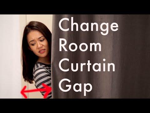 The Change Room Curtain Gap