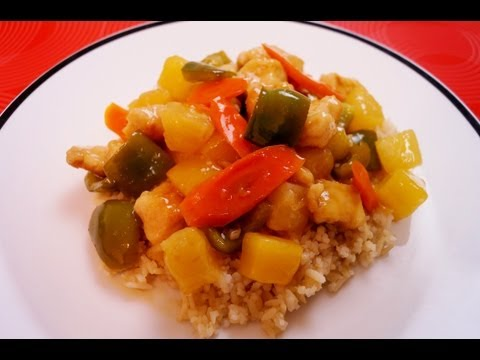 Sweet and Sour Chicken Recipe (How To) Make It: Easy Dinner: Diane Kometa-Dishin' With Di Recipe #19