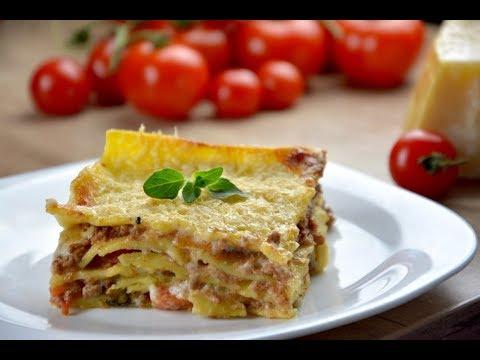 Lasagne Bolognese (gluten free)