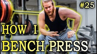 How to Bench Press for #size and #strength