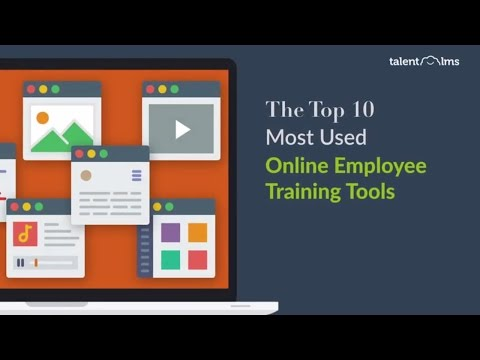 The Top 10 Most Used Online Employee Training Tools