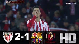 Resumen Athletic vs Barcelona (2-1) 05/01/17 HD