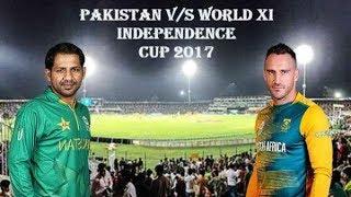 Pakistan vs World XI T20 2017 Highlights -Match