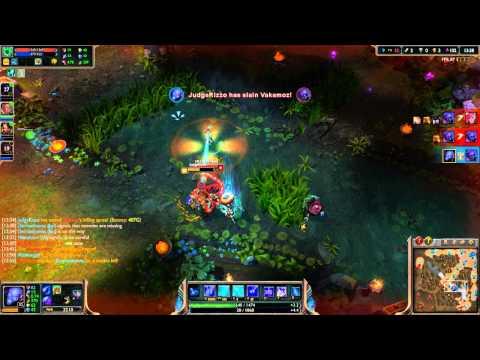 League of Legends - Zombie Ryze Mid - 4.13