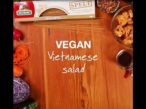 Vegan Vietnamese Salad