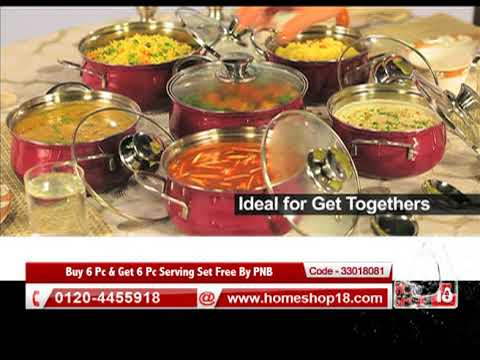 Smart Serve - Buy 6 Pc & Get 6 Pc Serving Set Free By PNB