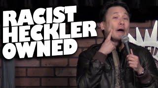 Comedian vs. Racist Heckler (uncensored) READ DESCRIPTION BOX