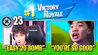 Carrying Rice Gum in SOLO SQUADS (23 BOMB)