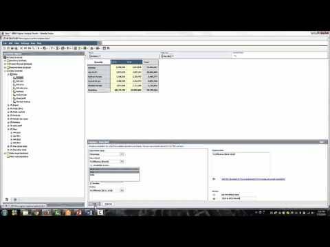 IBM Cognos Analysis Studio Training - Demo 9: Create Calculations