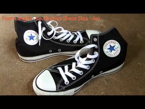 How To Buy Converse Shoes In Exact Size