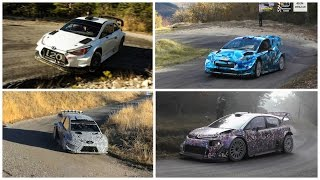 "WRC 2017 Rally ""THE 4 BEASTS"" Compilation (Pure Sound) HD"