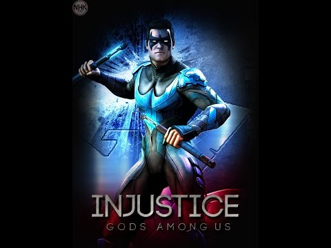 Injustice Gods Among Us: Classic Battle-Medium (Nightwing)