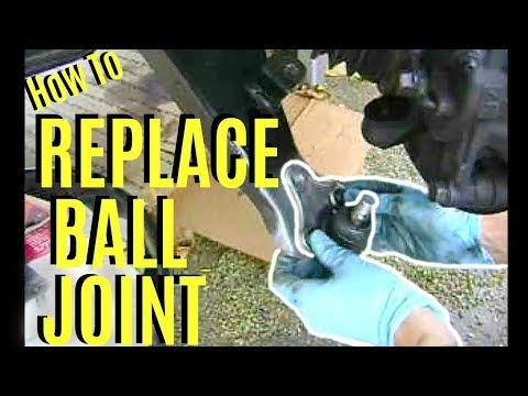 How To Replace Ball Joint Toyota Honda Camry Corolla Rav4 -Jonny DIY