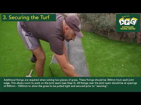 APC Installation Guide to DIY Artificial Grass