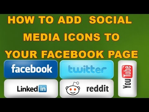How To Add Facebook, Twitter & LinkedIn Buttons on My Facebook Page