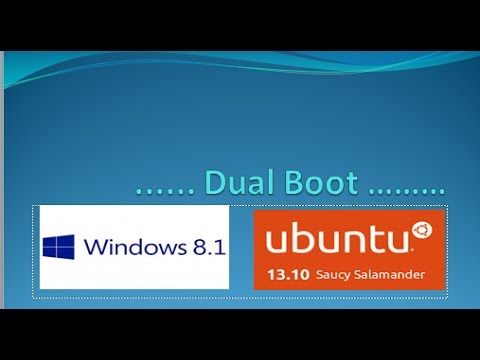 Dual Booting Windows 8.1 with Ubuntu 13.10