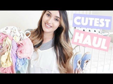 HUGE Spring Kids Clothing Haul! Old Navy + ORGANIZE WITH ME