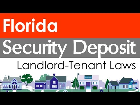 Florida Security Deposit Laws for Landlords and Tenants