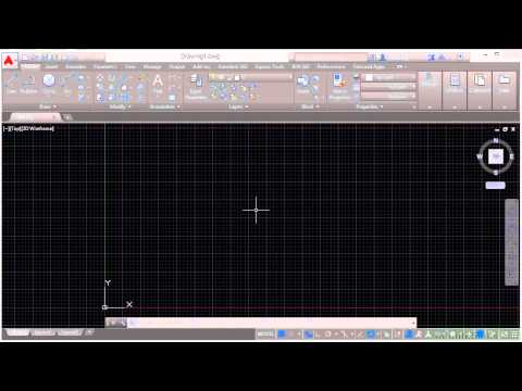 Autodesk AutoCAD 2015 Tutorial | Drawing Areas - The Crosshairs And Your Mouse