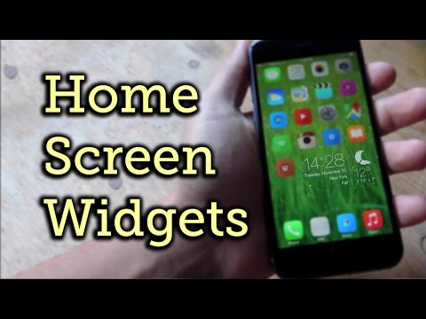 Get Real Widgets on Your iPhone's Home Screen in iOS 8 [How-To]