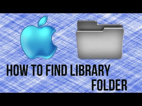 How To Find Library Folder On Mac OS X - Mac Tutorial