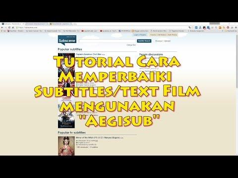 Memperbaiki Timing Subtitle Film