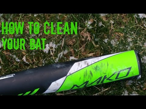How-to Clean/ Remove Scuffs From Your Bat