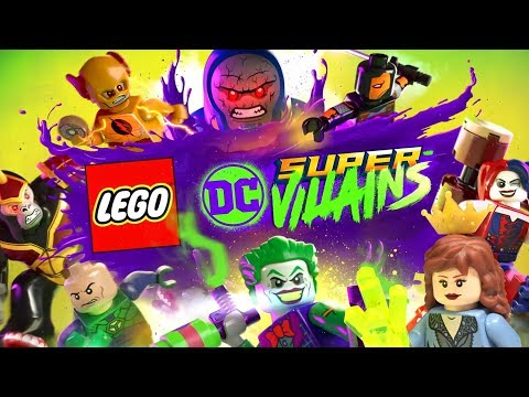 NEW LEGO DC Super Villains Video Gaming Coming October 2018