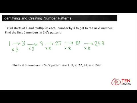 Identifying and Creating Number Patterns (4.OA.5)