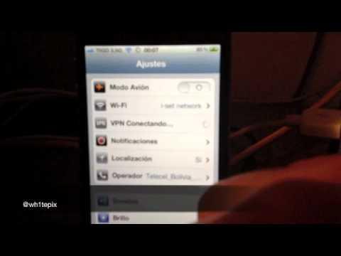 Tutorial de Jailbreak del iPhone 4S con iOS 5.0 o 5.0.1 con Absinthe para Mac.