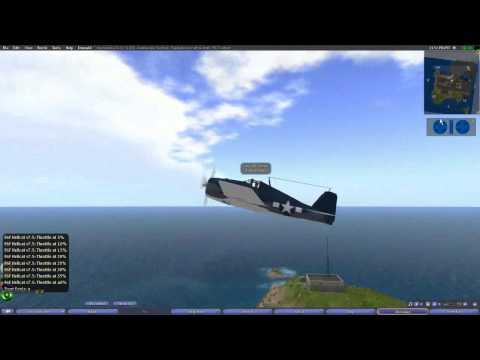 Second Life Airplane Tutorial 1