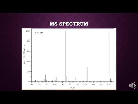 Using MS/IR Spectroscopy to Determine Molecular Structures