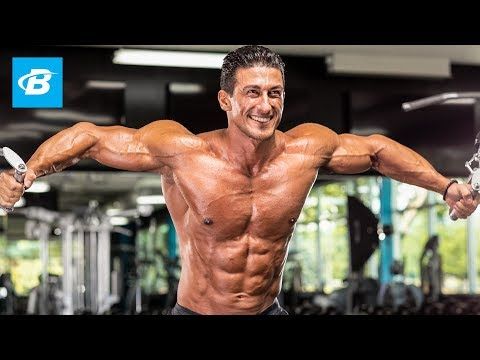 Sadik Hadzovic's Chiseled Chest Workout | IFBB Pro