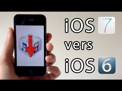 Downgrade de iOS 7.1.1 vers iOS 6 (6.1.3, 6.1.2, 6.x.x) pour iPhone