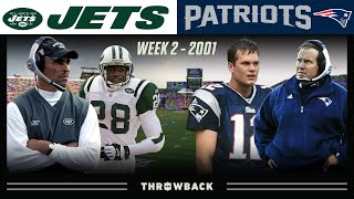 The Game That Changed the Future of the NFL! (Jets vs.  Patriots 2001, Week 2)