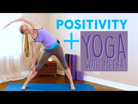 Feel Better NOW! Gentle Yoga for Flexibility & Mood with Meera ♥ 20 Minute Yoga Class at Home