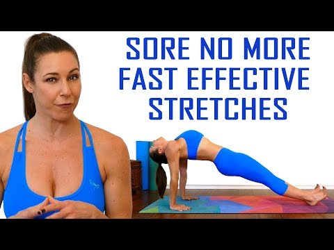 Sore No More | Stretch with Dani! Total Body Flexibility, Pain Relief, Ab Stretches, 20 Minutes