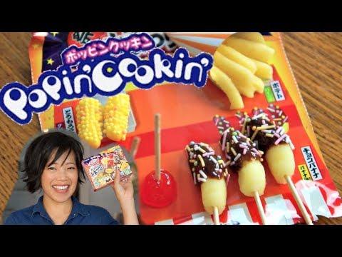 OMATSURI POPIN' COOKIN' Japanese Candy Kit makes miniature Japanese festival treats