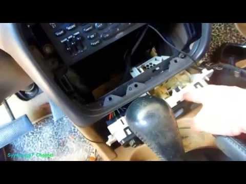 Chrysler Sebring, Remove DASH, CONSOLE, Adjust Heat Blend Door