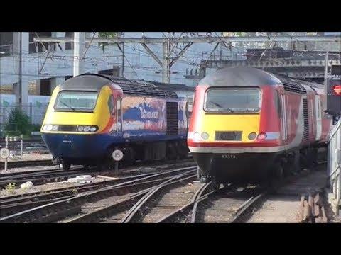 Trains @ London Kings Cross Railway Station - 26th May 2018