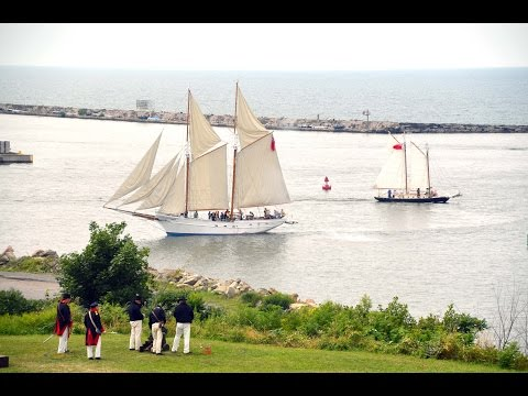 Recreation of 1814 Battle of Oswego - Fort Ontario