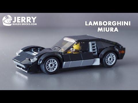 How to build LEGO Lamborghini Miura (MOC #48)