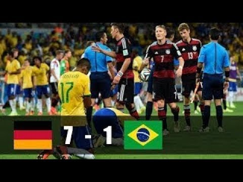 Most Humiliating Match In Football History! 2014 Brazil World Cup Germany vs Brazil Highlight
